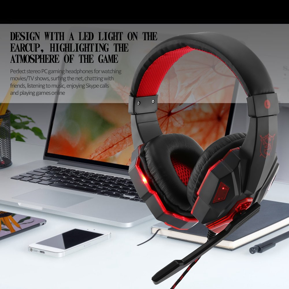 Sy830mv Gaming Headset With Mic Sound
