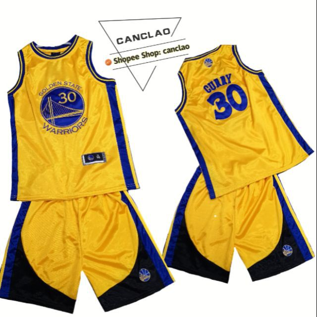 new arrival a855f f53b4 Jersey set for kids golden state #30 CURRY yellow-k