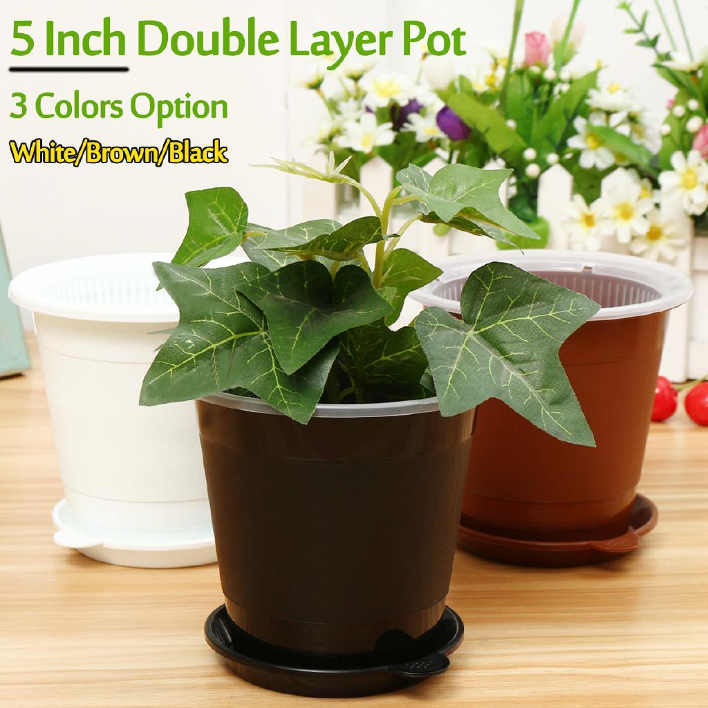 Shopee & Mesh pot 5 inch Clear Orchid Pot Plastic Flower Pot Planter