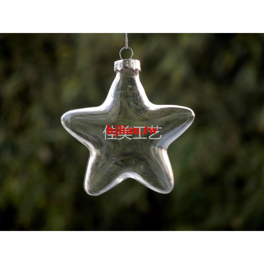 Factory Balls Christmas.Christmas Ornaments Pentagram Glass Balls Christmas Glass Ba