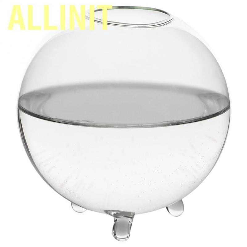 Allinit Glass Flower Vases Round Transparent Hydroponic Terrarium Planter Holder Decoration For Livi Shopee Philippines