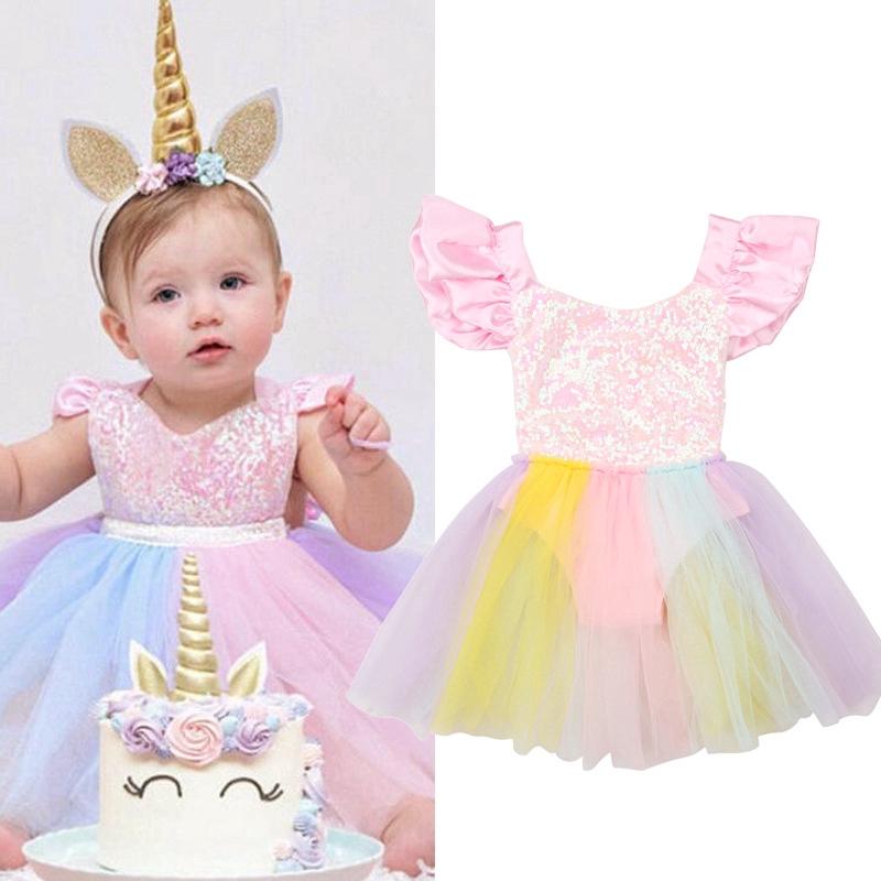 fab84120a Unicorn gold tutu dress