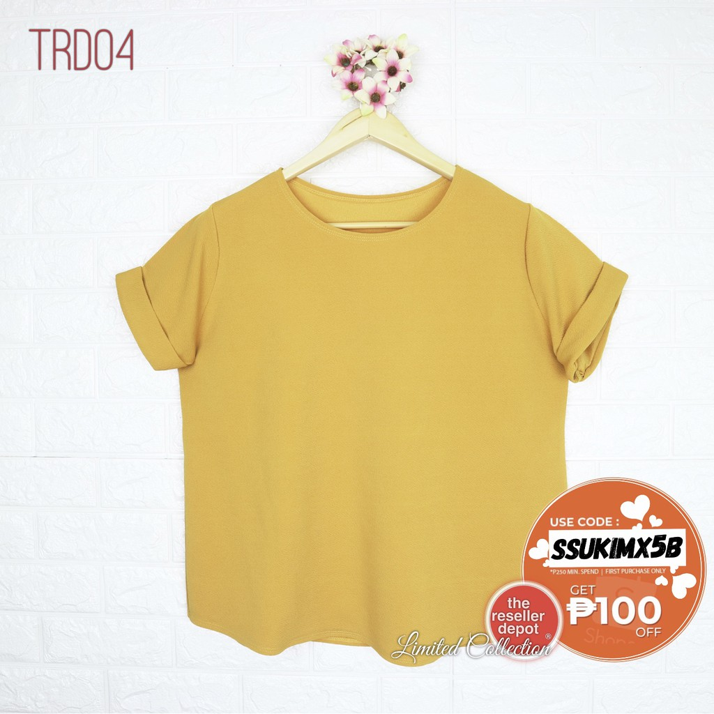 098b369c Ready stock New loose fashion letter print T-shirt | Shopee Philippines