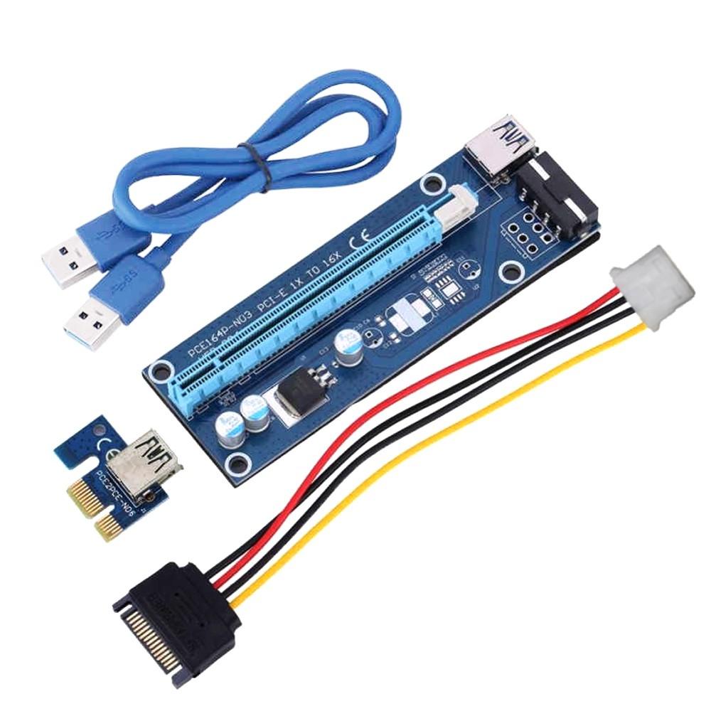 type-c Pci-e X1 Expression Card 1pcs--high Quality Pci-e X1 Usb3.0 To Usb Computer & Office