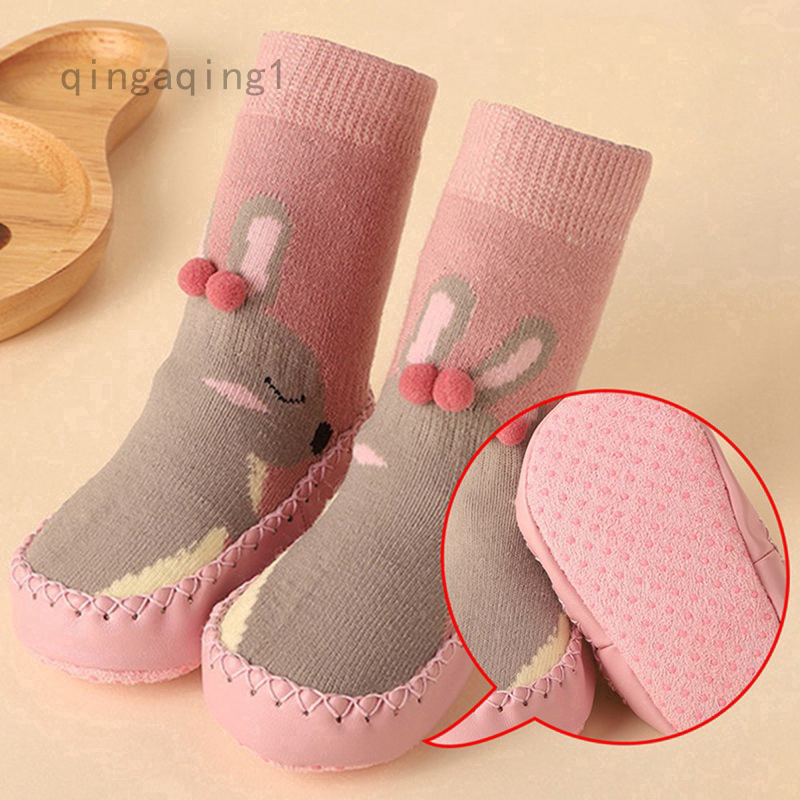Socks for Baby 3D Embroidery Cartoon Newborn Baby Socks Winter Warm Thick Infant