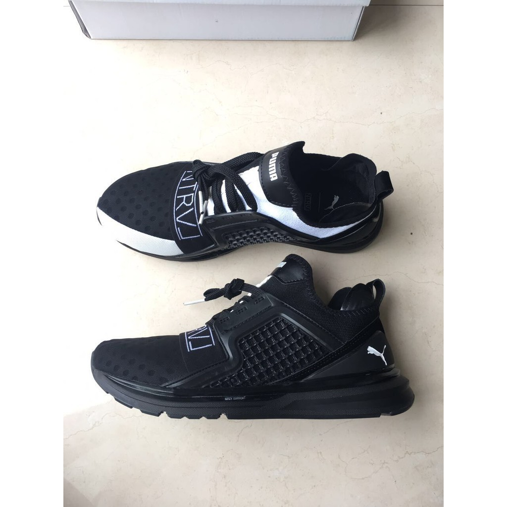 newest e4eea 8b1bc Ready Stock PUMA X STAPLE IGNITE LIMITLESS Shoes Fashion Sports Black White