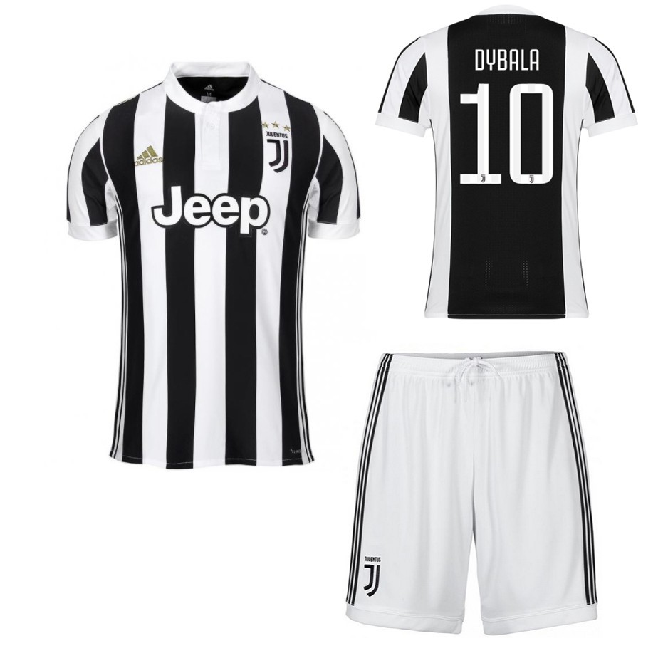 more photos 04998 38cce 17/18 JUVENTUS FC DYBALA home football jersey+shorts