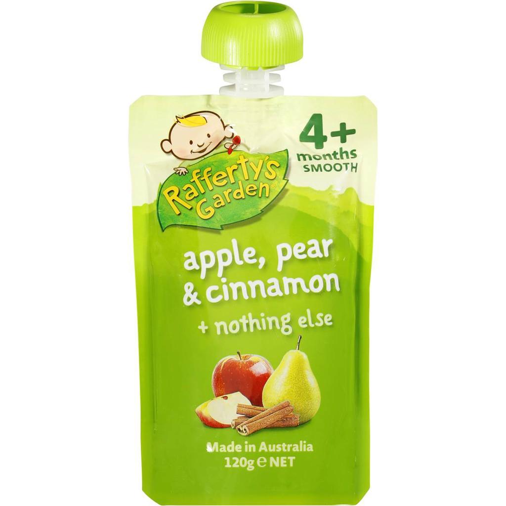 Raffertys Garden 6 Months Multigrain Banana Apricot Cereal Peachy Pear Puree 100gr 6m Shopee Philippines