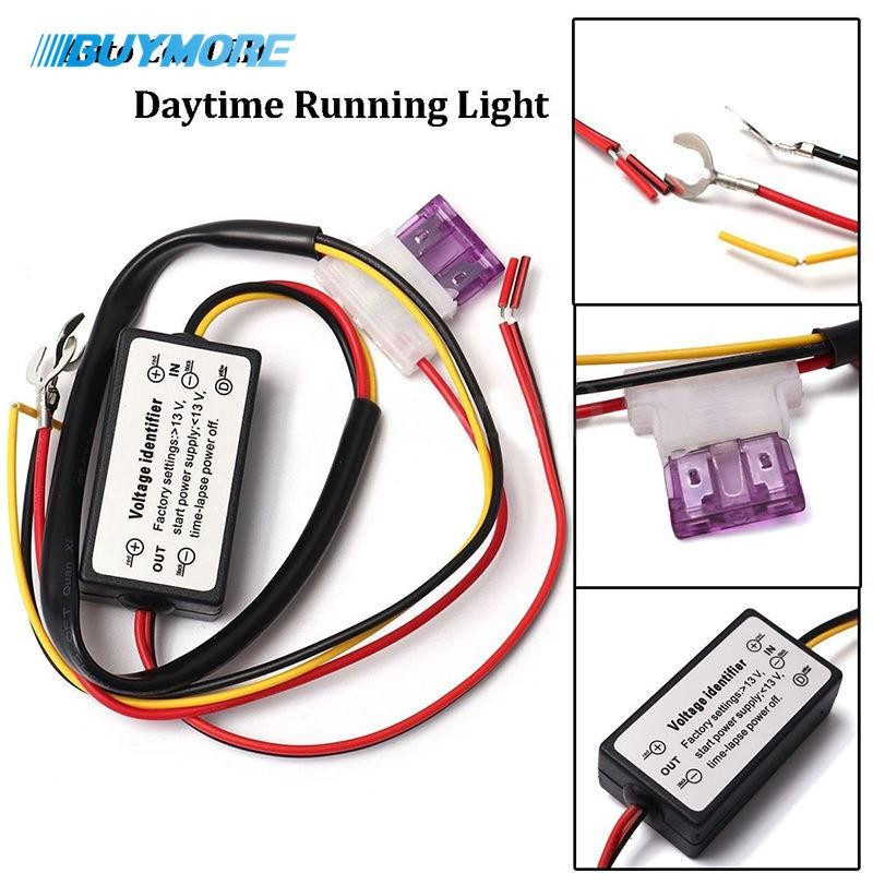 New 1pcs Daytime Running Led Light Controller Led Car Light Delay Control Harness Smart Intelligent Controller Time Delay Cable Automobiles & Motorcycles