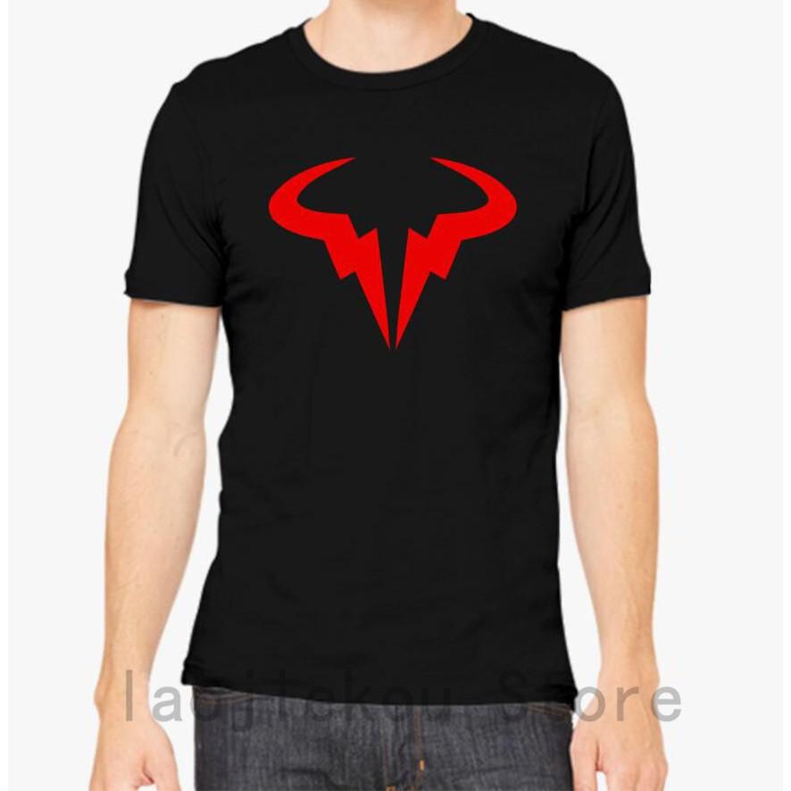 Ready Stock Rafael Nadal Logo Tops Tee 100 Cotton Funny Print Men T Shirt Shopee Philippines
