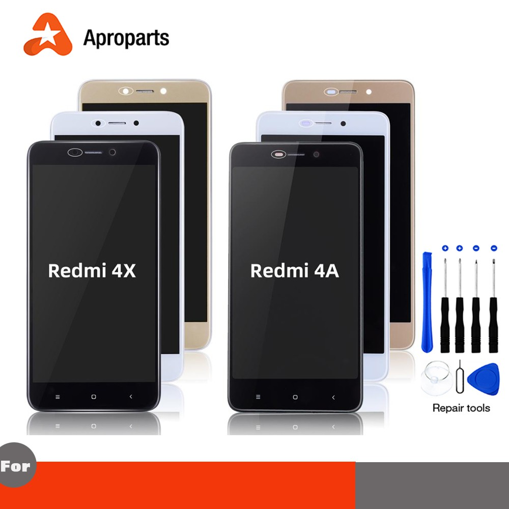 Original Display For XIAOMI Redmi 4X LCD Display Touch Screen For Xiaomi  Redmi 4A Display Assembly