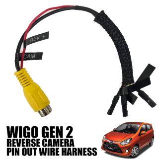 Toyota Wigo Gen 2 Reverse Camera Pin Out Wire Harness Shopee Philippines