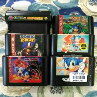 Sonic The Hedgehog 6 In 1 Multi Cart Game Boy Dmg Color Game Cartridge Cn Nintendo Shopee Philippines