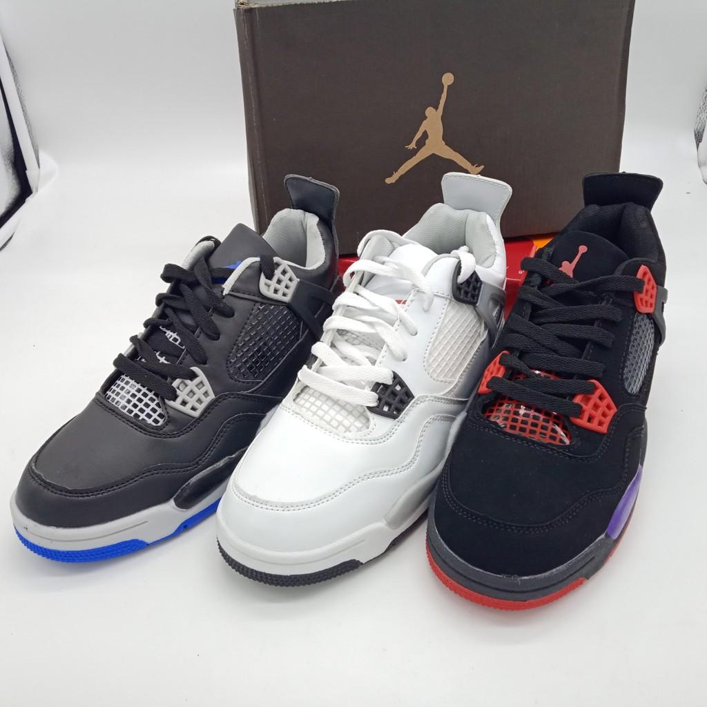 scarpe da ginnastica vero affare brillante nella lucentezza Nike air Jordan 4 men's shoes for Basketball shoes fashion ...