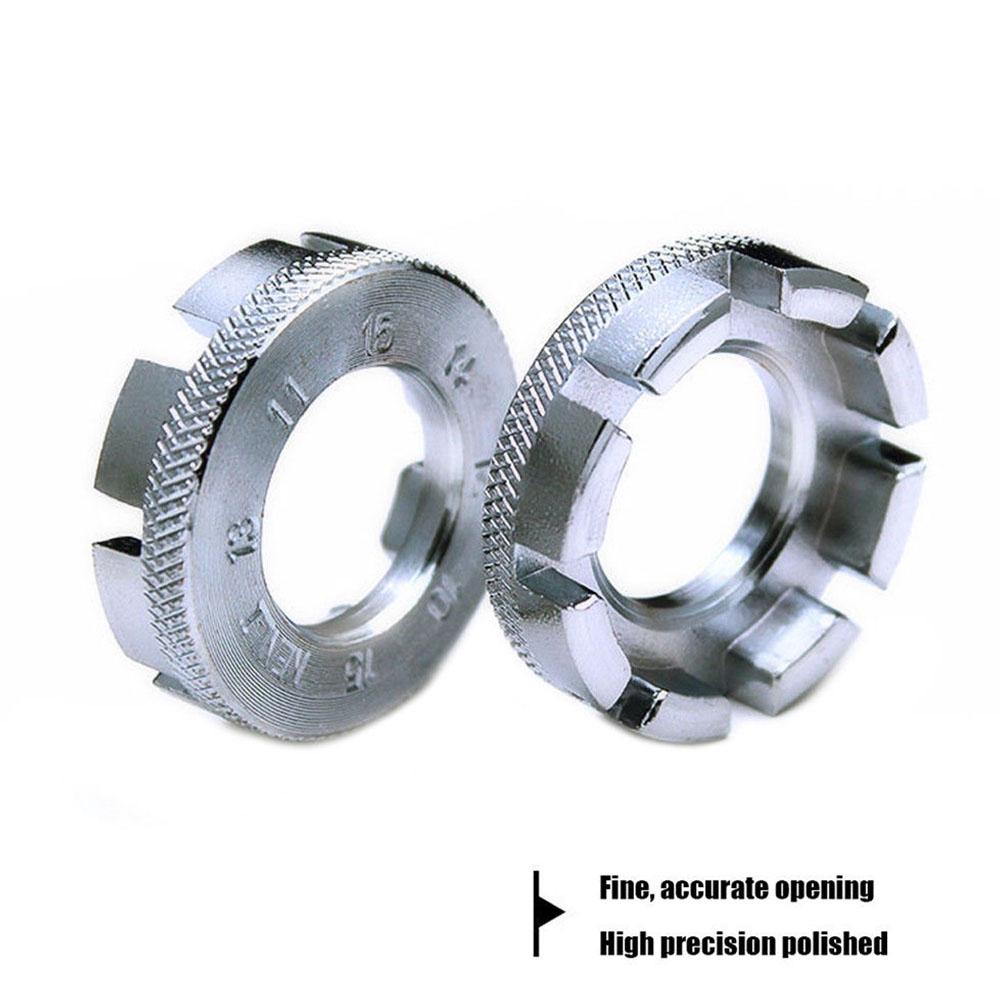 5Pcs Disc Brake Rotor Freewheel Threaded Hubs Nut 6 Bolt Flange Adapter 44mm