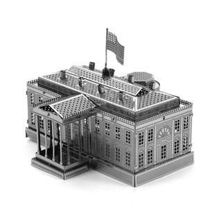 Free Plastic Diy 3d Puzzle Toy Model Assembled White House