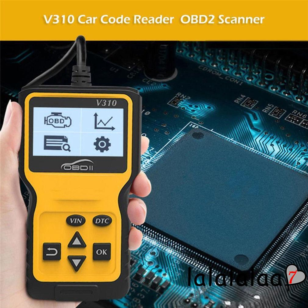 OBD2 EOBD CAR FAULT CODE READER SCANNER ENGINE SCAN TOOL