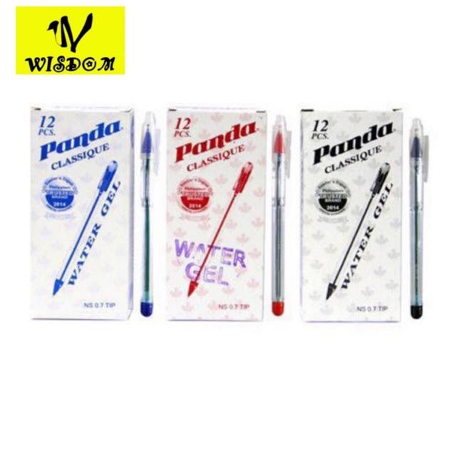 WISDOM panda classique ballpen (12pcs) school supplies