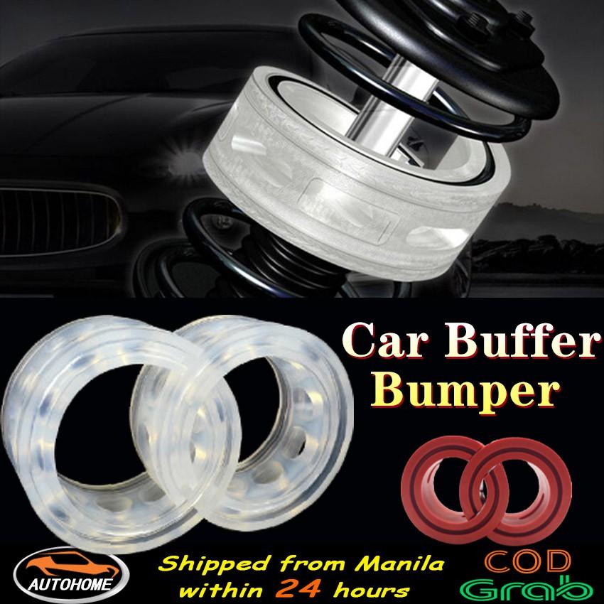2Pcs Universal Car Shock Absorber Spring Buffers Bumper