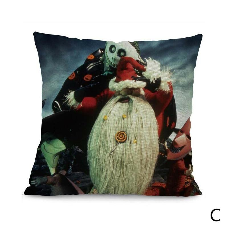 Unusual Nightmare Before Christmas Jack Skellington  Cushion Cover 45cm