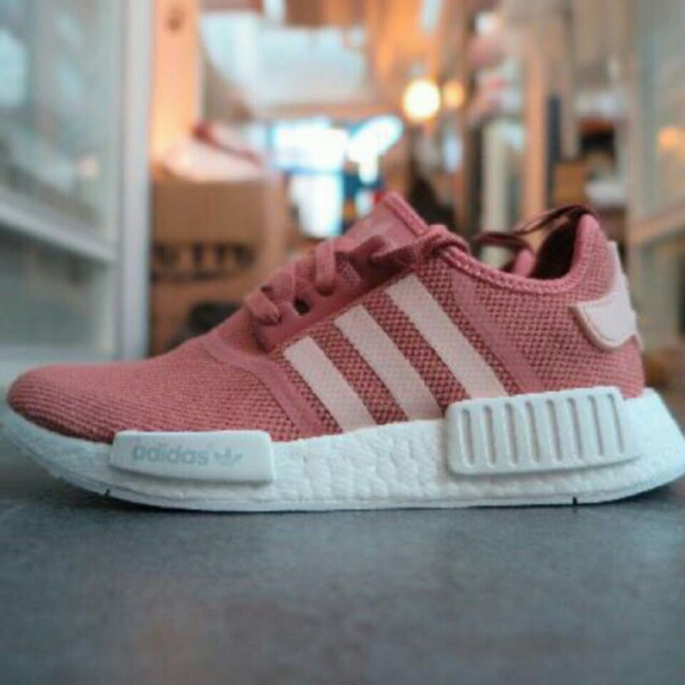 newest b8d13 a034a SLK ☆ ADIDAS NMD RAW PINK R1   Shopee Philippines