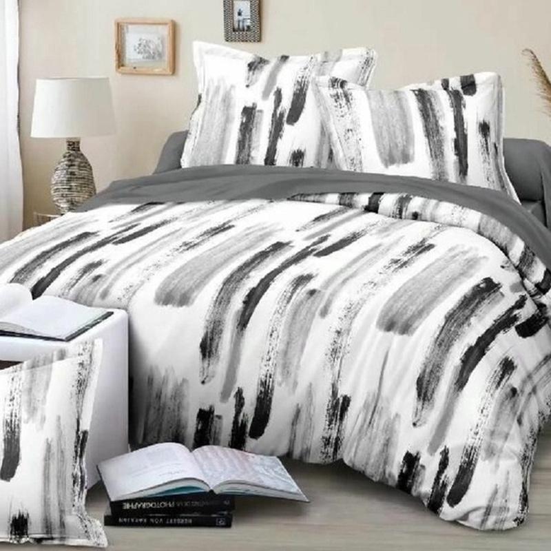 3pcs Black And White Bedding Sets 7 Size Duvet Cover Sets Shopee Philippines