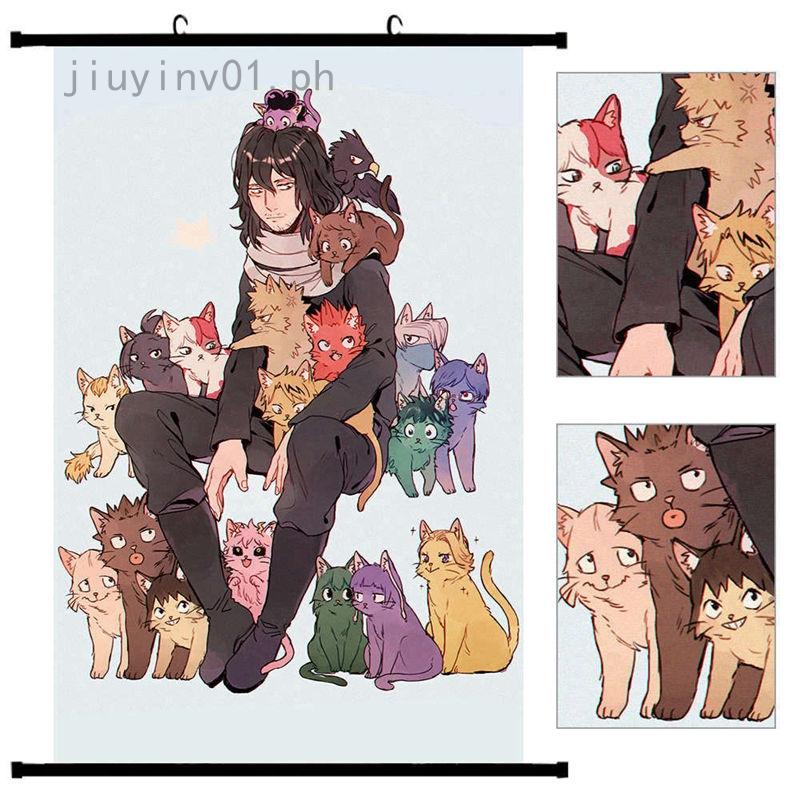 My Boku no hero Academia HD Print Anime Wall Poster Scroll Room Decor