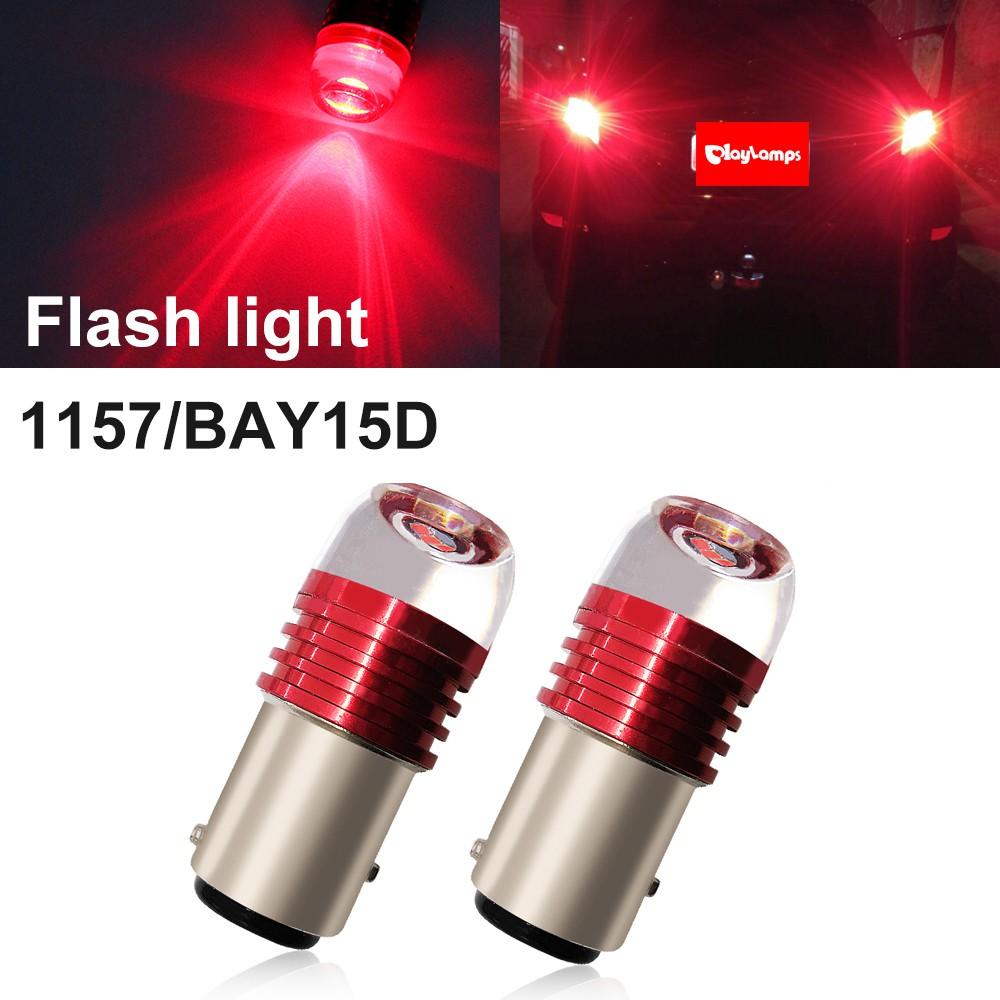 2x Ultra Bright White 24-LED Reverse Light Safety Back Up Lamp Bulbs
