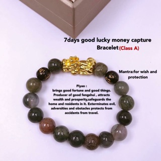 Feng Shui Black Onyx with Protection Mantra Bracelet | Shopee