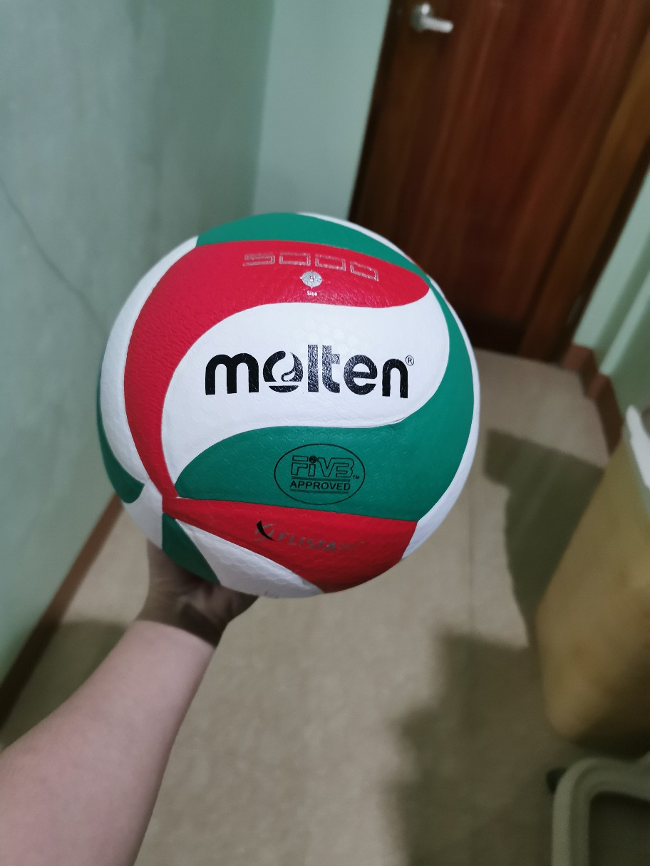 Molten Original V5m5000 Volleyball Size 5 Volleyball Ball Shopee Philippines