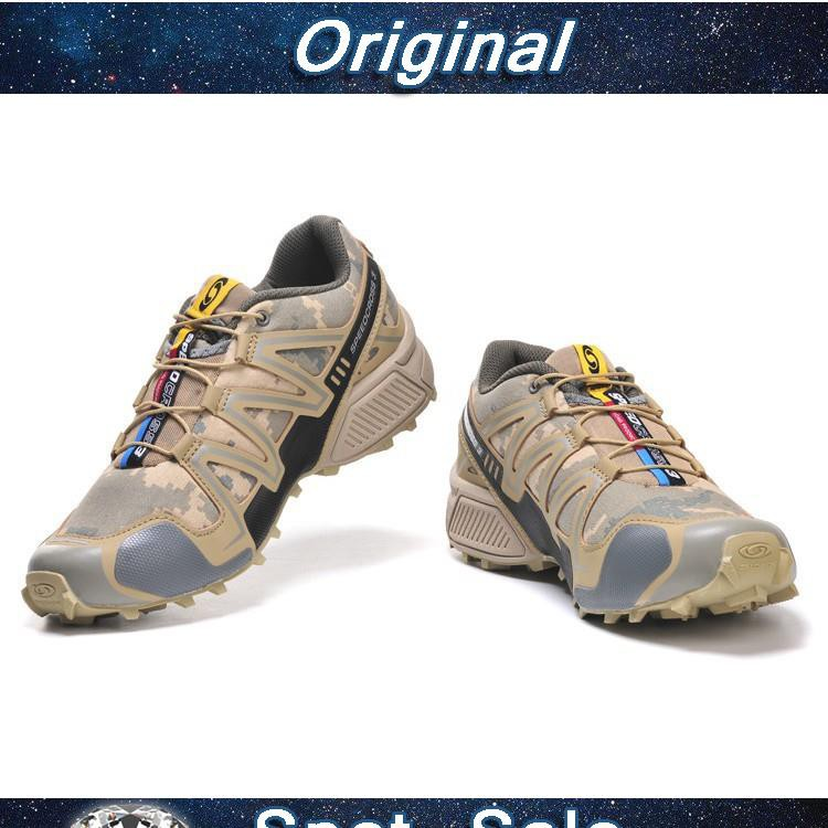 size 40 3f93c 5d4e5 ProductImage. ProductImage. Men Salomon Speed Cross 3 CS Running Shoes  Camouflage Yellow