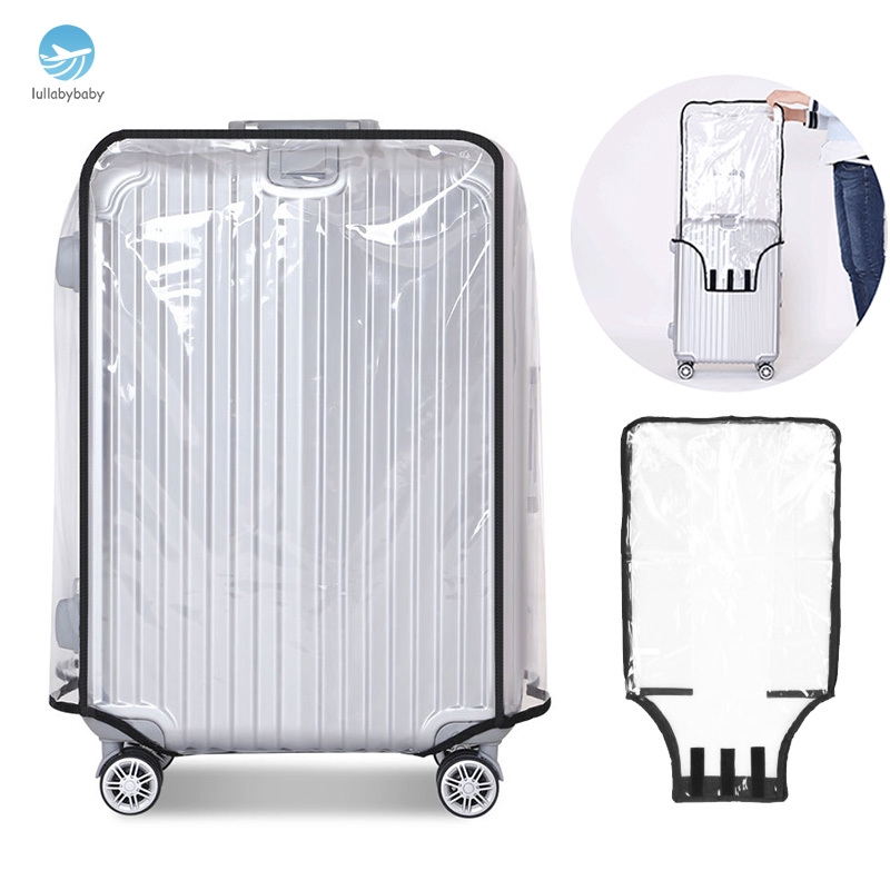 c23fcaed7e0e Waterproof Transparent Luggage Suitcase Cover Travel Protect