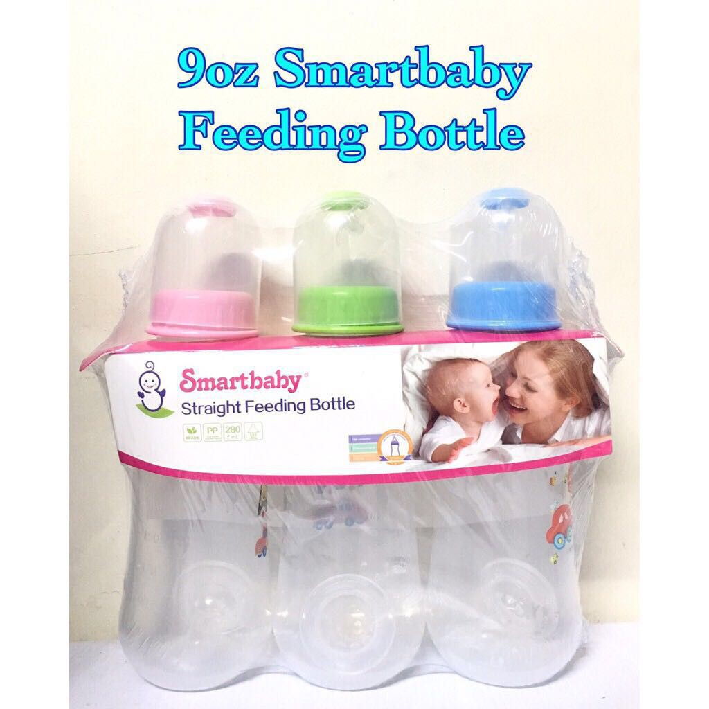 Baby 3in1 280ml/120ml Straight feeding bottle set