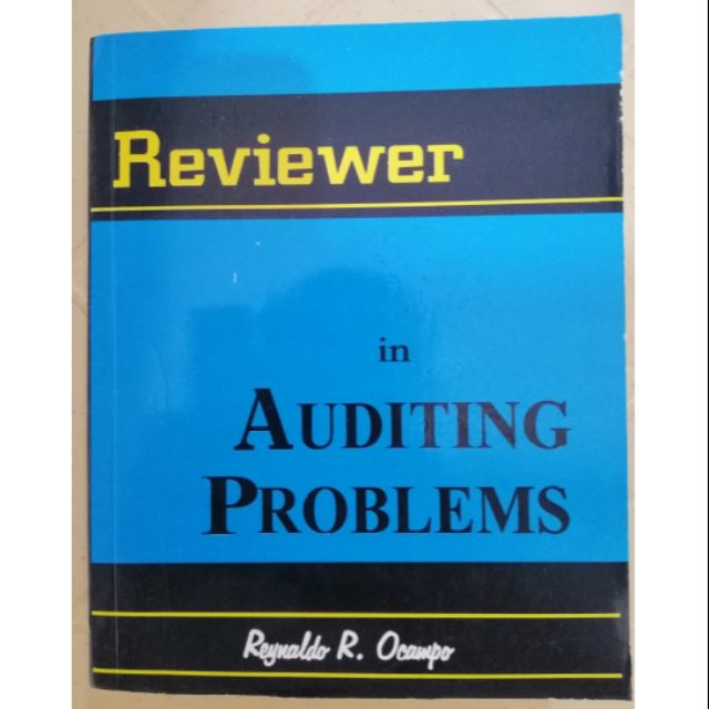 Reviewer in Auditing Problems (Ocampo)