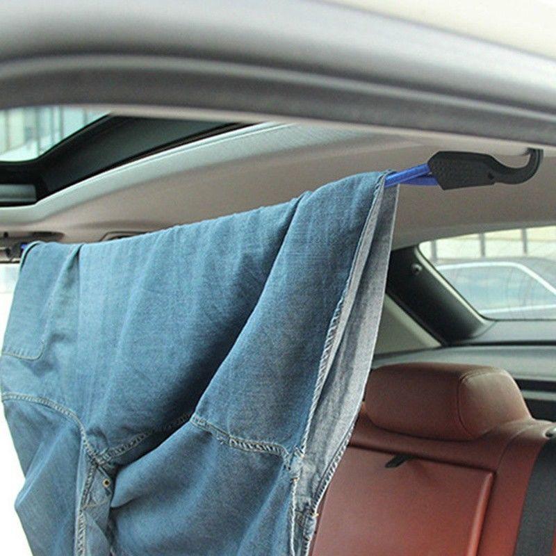 Super Elastic Adjustable Bungee Cord Strap Stretch Plastic Hook Car LuggageYuXs