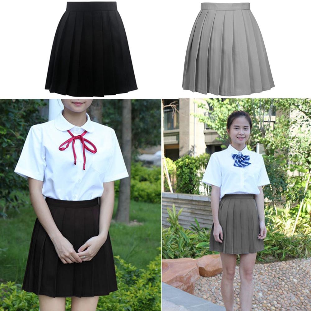 0b9dd44a6082 Foxty Girls Lolita Cosplay School Uniform Pleated Mini Skirt | Shopee  Philippines