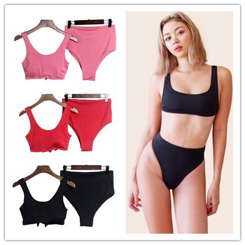 20baba918257 Two Piece Swimwear Floral Bikini Padded Swimsuit