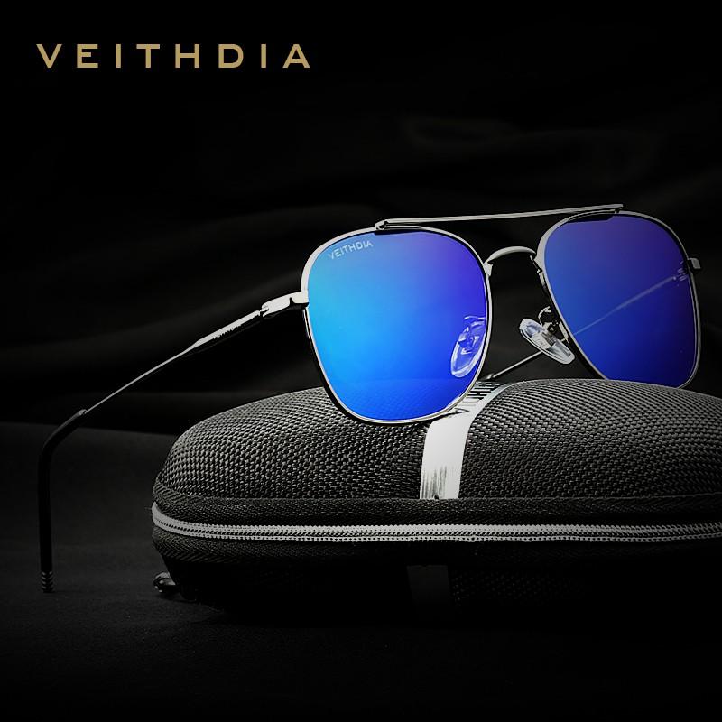8aae5ad301 VEITHDIA Polarized Sunglasses Men Women Eyewear 3820