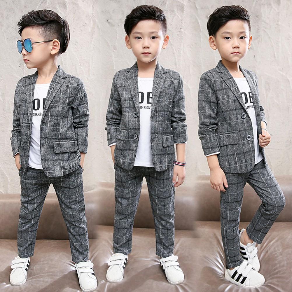 2PCS Kids Gentlemen Boys wedding Concert Suit Vest+Shorts Fashion Party Outfits