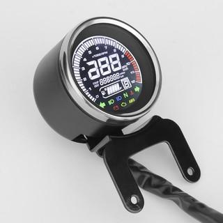 0~120° Motorbike Water Temp Temperature Gauge Red LED 18mm Sensor Head Plug Kit