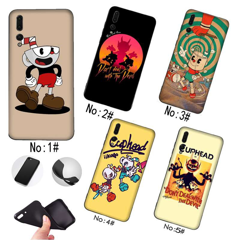 Cute Cuphead Huawei mate10Pro P20 phone shell