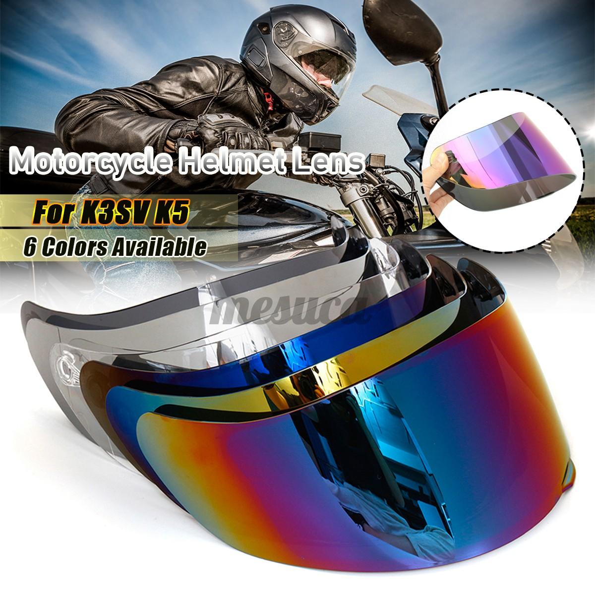 Luxury Motorcycle Motorcross Visor Helmet Lens Face Shield For Agv K3 Sv K5 Shopee Philippines