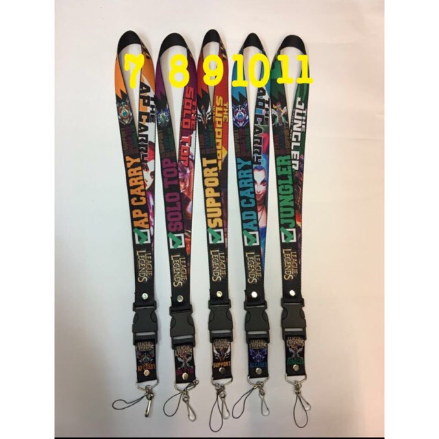 Id Lace Lanyard league of legends 2