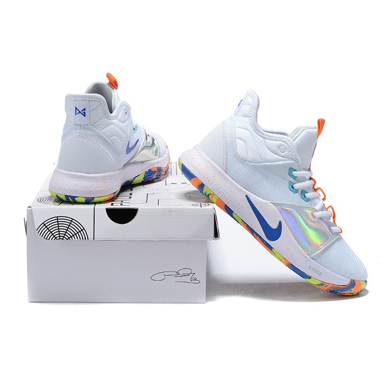 the best attitude 3707b a2459 Genuine Nike Paul George 3 PG 3 Men Shoes Basketball Shoes