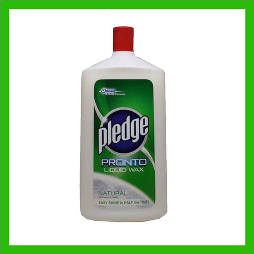 Pledge To Liquid Wax 1l Sho