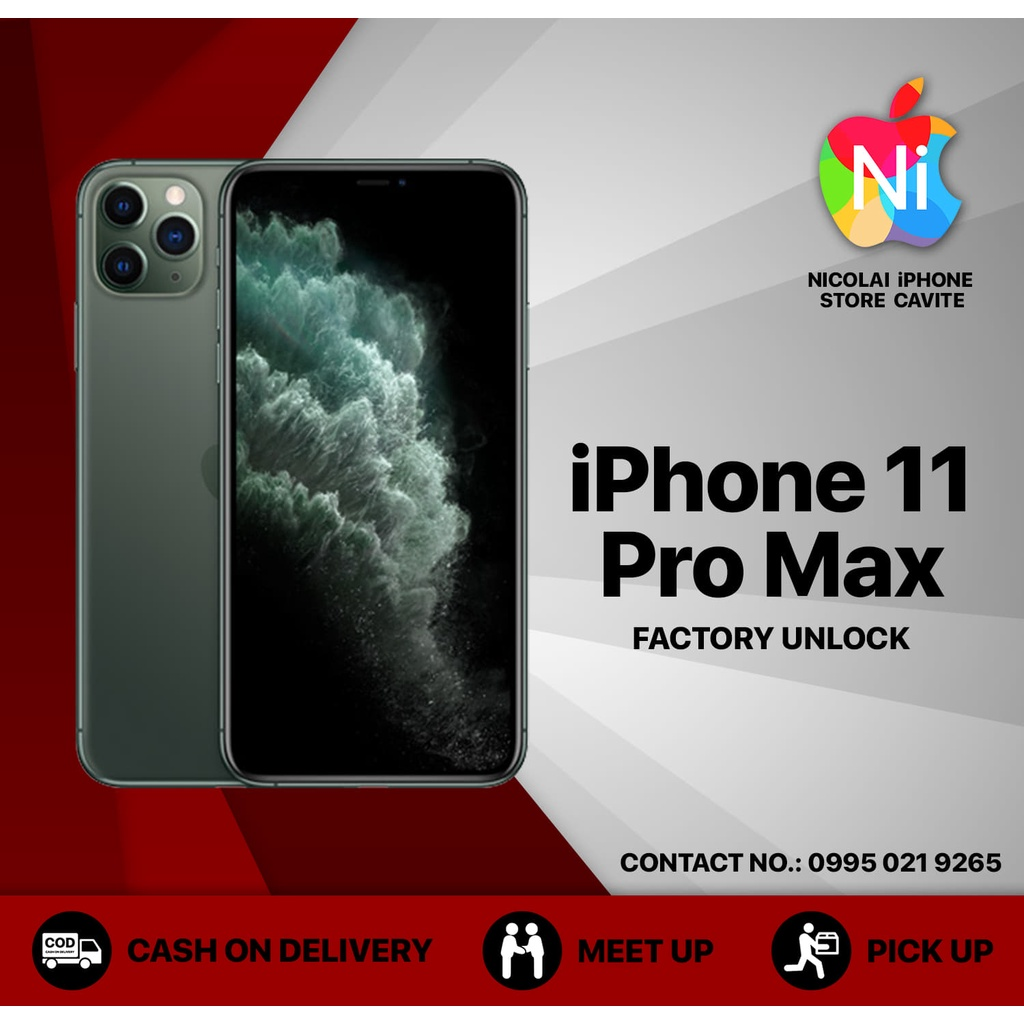 IPHONE 11 PRO MAX FACTORY UNLOCK