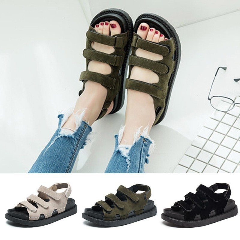 bda3d6a6 Fashion Women Sandals Flip Flops Summer Beach Home 1 Pair | Shopee ...