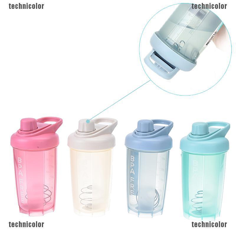 74382a11e093 protein shaker bottle with mixed ball fitness water bottle