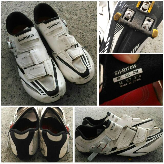 Sh Pre Owned Shimano Rb Cycling Cleats R170w Shoesw WD9Y2IEH