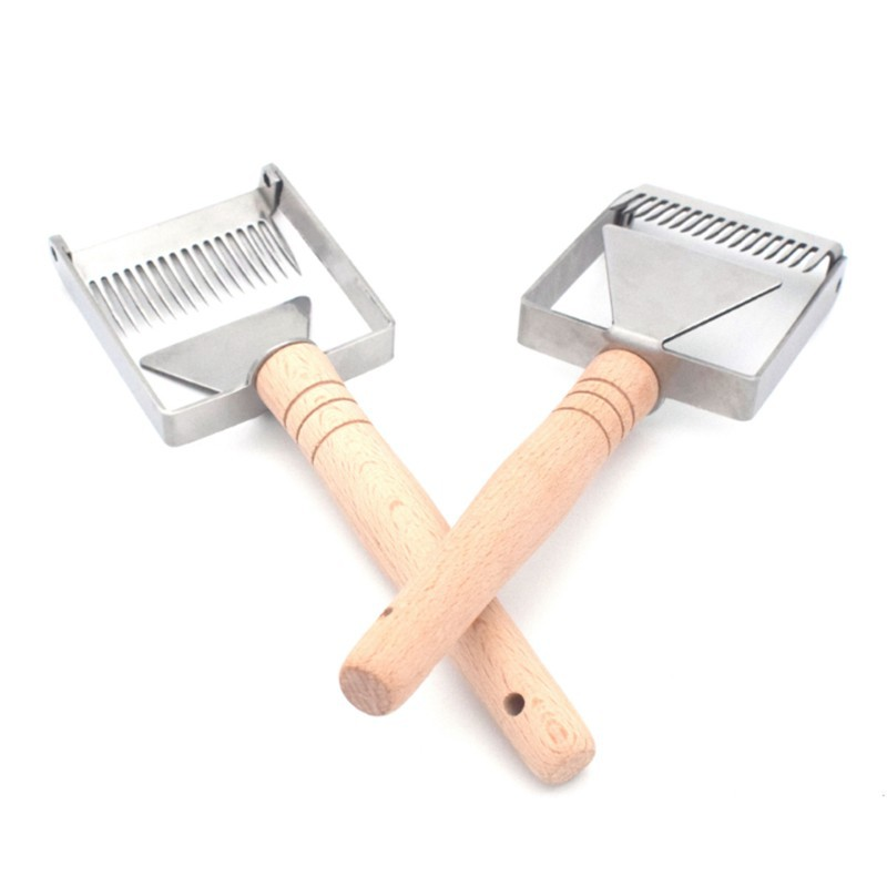 supplies bee Uncapping fork Beekeeping Tool Stainless Steel  Honey Scraper